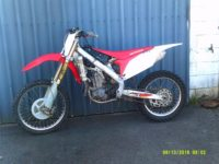 HONDA CRF450R 2011 WRECKING PARTS FROM $20