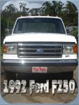 For sale: 1992 Ford F250 Ute White